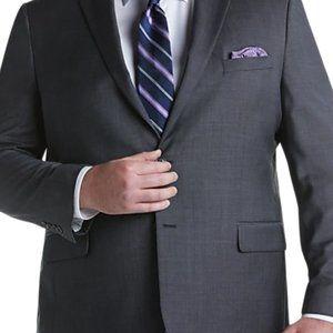 PRONTO UOMO Charcoal Grey Blazer 58R